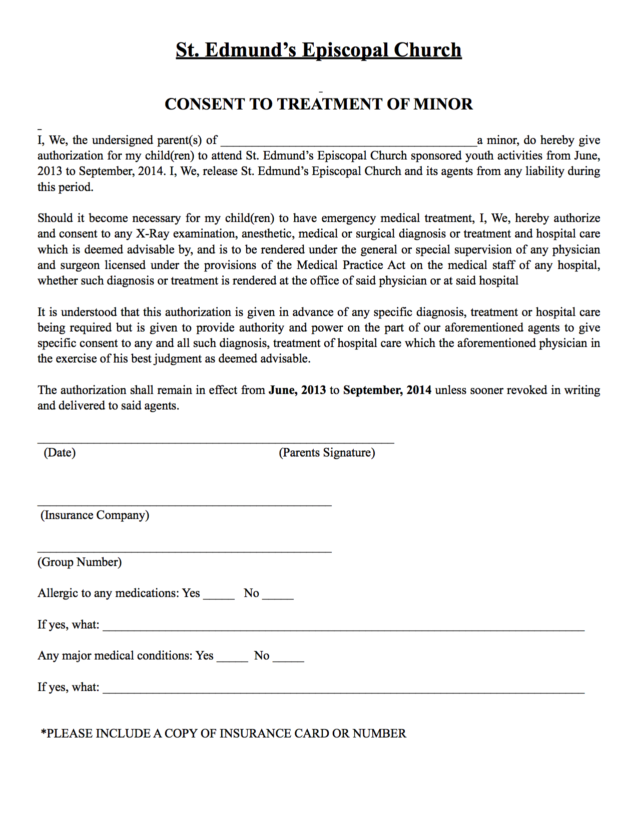 Youth Permission Slip Pictures to Pin PinsDaddy – Permission Forms Template